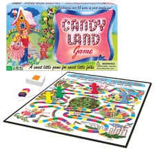 Classic Candy Land 65th Anniversary Family Board Game, Competitive Multiplayer