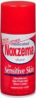 Noxzema Medicated Shave Cream for Sensitive Skin 11 oz each