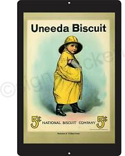 UNEEDA BISCUIT advertisement, reproduction, metal sign, wall decor,