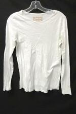 Women's White Long Sleeve Casual Maternity Shirt By Old Navy Size M