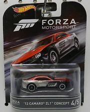 FORZA MOTORSPORTS FM 2012 12 CHEVY CAMARO 4 RED ZL1 RACE CAR 2017 HOT WHEELS