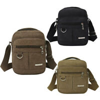 Canvas Men Shoulder Bag High Quality Crossbody Handbag Backpack Adjustable Bags