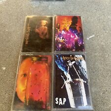 Alice In Chains Cassette Lot 5 Sap, Nothing Safe, Unplugged, Jar Of Flies, Dirt