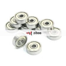 10 Pcs 635Z 5 mm x 19mm x 6 mm Sealed Miniature Deep Groove Radial Ball Bearings