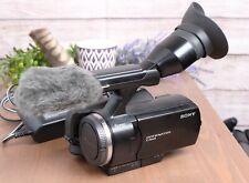 Sony Handycam NEX-VG10 Interchangeable Lens 1080 HD Camcorder Body with AC Power