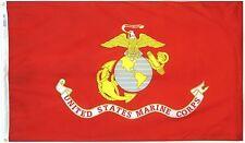 United States Marine Corps Fuzileiros Navais dos Estados Unidos Bandeira 3 X 5 Semper Fi Fidelis com ilhós de latão