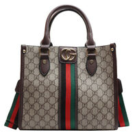 Womens PU Leather Handbag Large Capacity Hobo Tote Crossbody Messenger Bag
