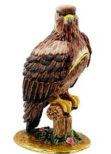 EAGLE, BIRD of PREY TRINKET BOX, Eagle ORNAMENT,JULIANA TREASURED TRINKETS