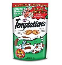 Whiskas Temptations Seafood Medley Flavor Cat Treats