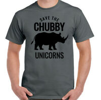 Save The Chubby Unicorns Mens Funny T-Shirt