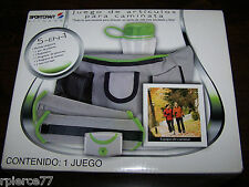 SPORTCRAFT 5 in 1 Walking Kit - Weights, Pedometer, Bottle, Belt..NIB In Spanish