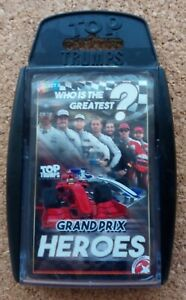 Top Trumps - Grand Prix Heroes (2016 Edition) (Pack Still Sealed) (Rare)
