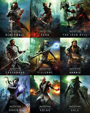 "Dragon Age Inquisition Characters Silk Cloth Poster 32 x 24"" Decor 17"