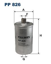 Filtro de combustible-Filtron pp826
