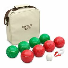 GoSports Premium 100mm Bocce Ball Set 4 Player Game