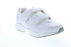 Avia A344WWSY Womens White Leather Low Top Athletic Walking Shoes 7