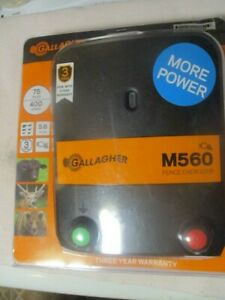 Gallagher M560 5.6-Joules AC-Powered Fence Energizer G323514 BRAND NEW