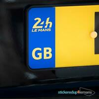 Official Le Mans GB Numberplate sticker (pair)
