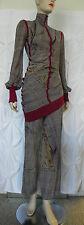 Vintage Jean Paul Gaultier Top Pants Mini Dress 2 Piece Outfit Size S