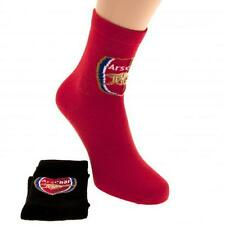 Arsenal FC Socks Size 4-6.5 - 2 Pair pack - (Official Merchandise)