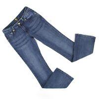7 For All Mankind Womens Flare Leg Jeans Sz 28 (27 x 31) Medium Denim 7FAM