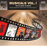 MUSICALS VOL. 1 - SIX CLASSIC SOUND TRACK ALBUMS (NEW SEALED 4CD)