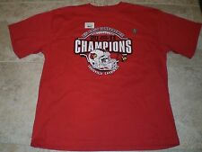 NWT 2011 LOUISVILLE CARDINALS Big East Conference CHAMPIONS T-SHIRT SIZE XXL