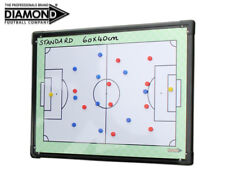 NEW DIAMOND FOOTBALL - DOUBLE SIDED STANDARD TACTIC BOARD 60x40cm + CARRY BAG