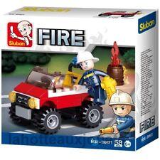 CAMION   VOITURE POMPIER FIRE SLUBAN M38-B0621
