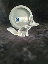 New ListingSwarovski Crystal Large Fox Figurine #7629
