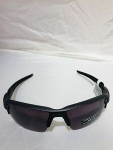 Oakley SUNGLASSES OO9188 60 FLAK 2.0 59/12 Polarized Black Gray