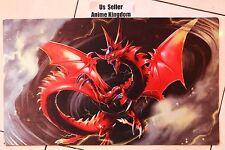 Custom Anime CARDFIGHT VANGUARD MTG WOW Playmat Slifer the sky dragon Mat #614