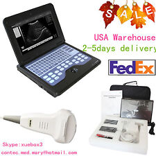 CE Portable laptop machine Digital Ultrasound scanner,3.5 Convex probe,FedEx USA