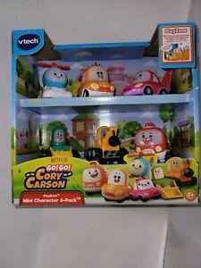 vTech GO GO Cory Carson 6 Pack Mini Character Car Vehicles Playzone Netflix
