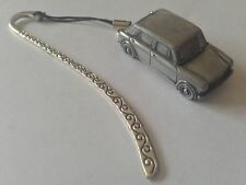 Austin 1100 Mk 3  FULL CAR on a Pattern bookmark with cord ref9