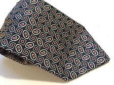 Men's Tie, Silk, Karl Lagerfeld, Black, Paisely, Classic