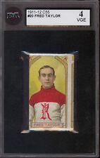 1911-12 C55 Imperial Tobacco Hockey #20 Fred Cyclone Taylor KSA 4 VG-EX Card HOF