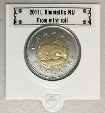 CANADA 2011 New 2 dollar TOONIES (BU directly from mint roll)