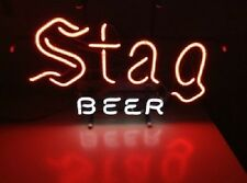 "New Stag Beer Bar Pub Neon Light Sign 19""x15"""