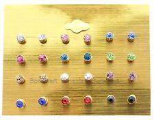 Crystal Rhinestone Stud Fashion Earrings
