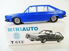 MINIAUTO T613 'TATRA 613' PLASTIC MODEL CAR. BLUE. MIB/BOXED. RARE. VINTAGE.