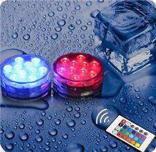 RGB LED Unterwasserlichtshow Unterwasser Lampe Poolbeleuchtung Aquarium Leuchte