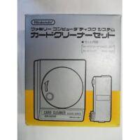 NOT used NINTENDO Famicom Disk System Card Cleaner SET HVC-027 Japan Tracking