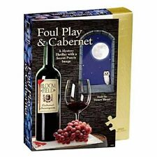 Foul Play and Cabernet Mystery Jigsaw Puzzle (1000 Pieces)