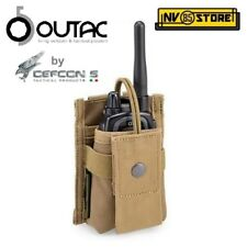 Tasca Porta Radio Regolabile OUTAC by DEFCON 5 per Gilet o Cintura MOLLE CY