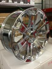 4 NEW 2015 GMC Wheels 22x9 Chrome OE Yukon Sierra Silverado Denali  Tahoe