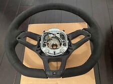 MCLAREN 675LT 650S 570s 570GT MP4 12c Leather Steering Wheel MSO OEM