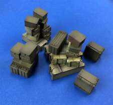 Truck or Railroad Cargo, Crates, Boxes for Diorama (1/35 True Details 35101)