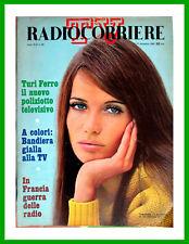 1966/50 Radiocorriere TV VERUSCHKA Turi Ferro-Bandiera Gialla Honeybeeats Aldini