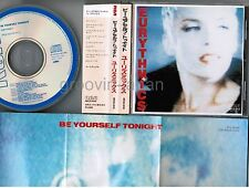 EURYTHMICS Be Yourself Tonight JAPAN CD RPCD-1012 w/tuck in OBI 1986 issue 3,500